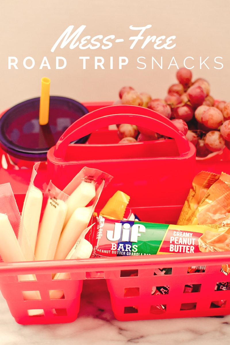 mess-free road trip snacks