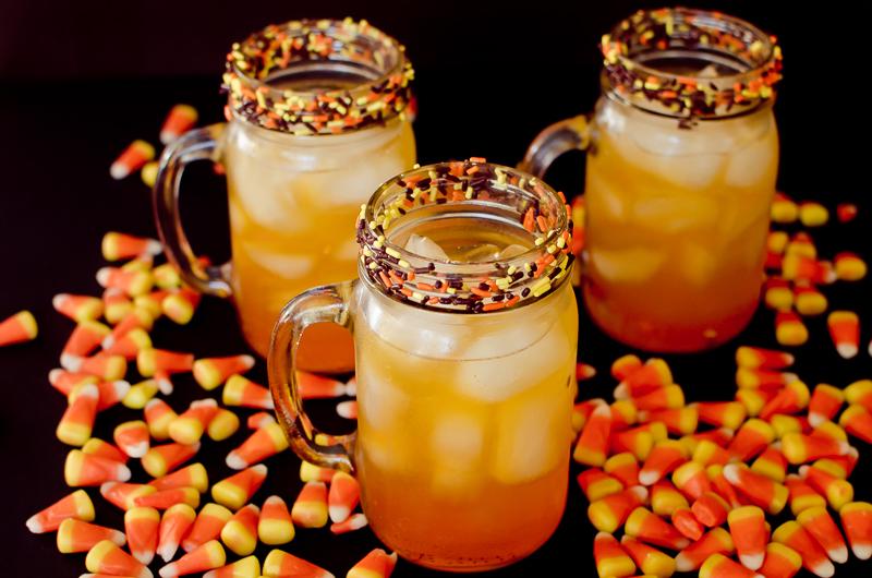 candy corn punch-8