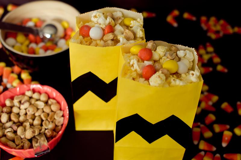 peanuts popcorn snack mix-5
