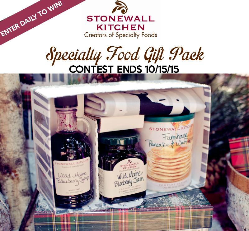stonewall kitchen giveaway