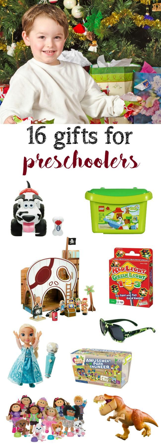 16 gifts for preschoolers