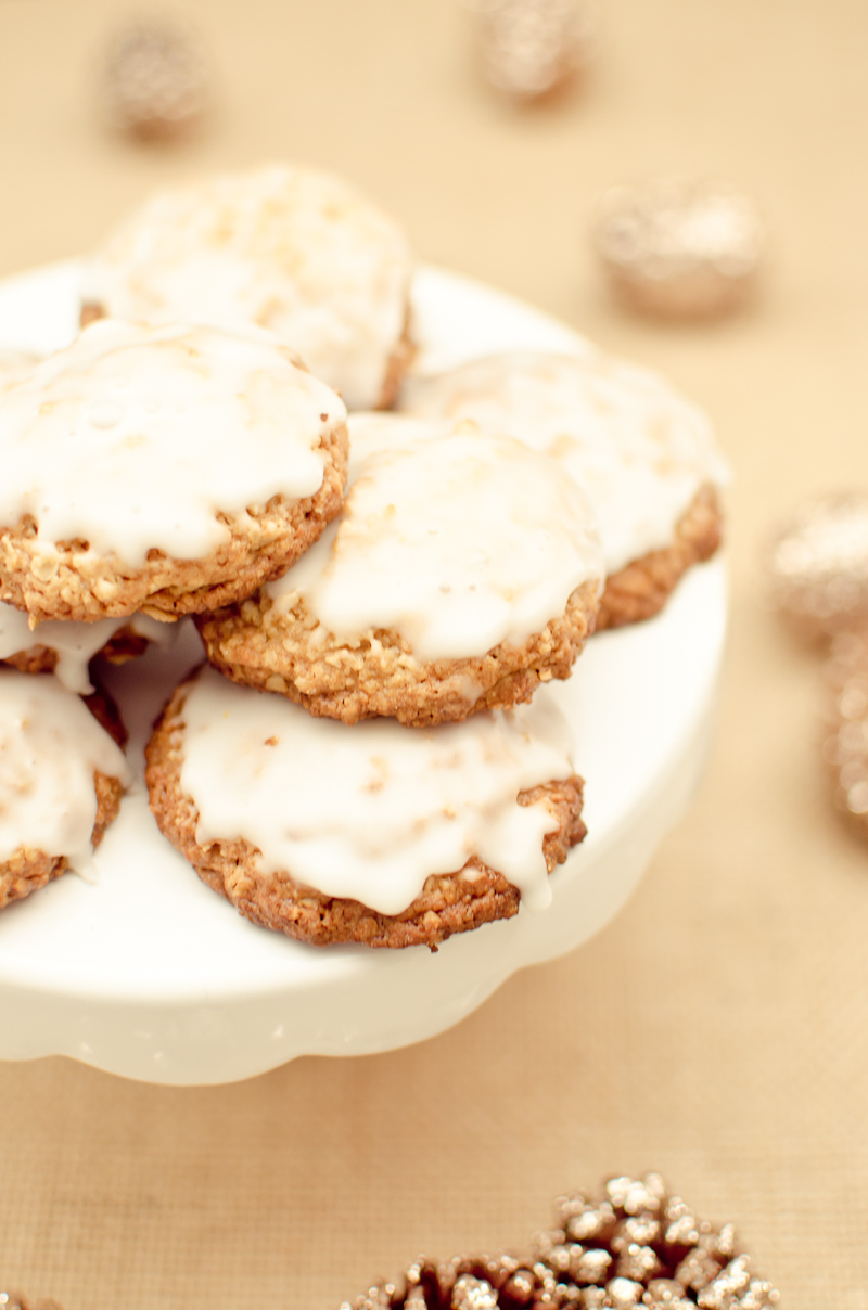 iced oatmeal cookies-7
