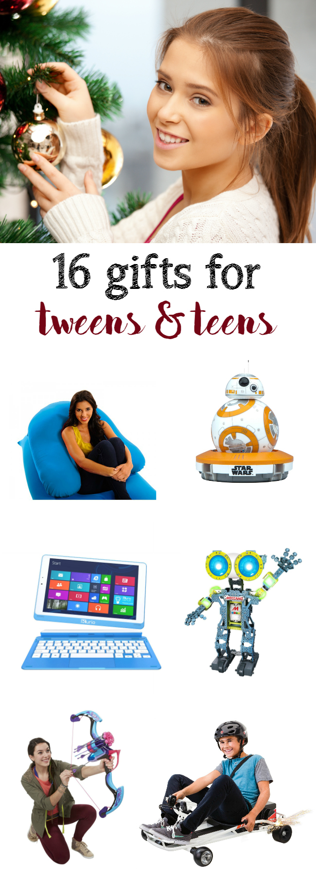 16 gifts for tweens and teens