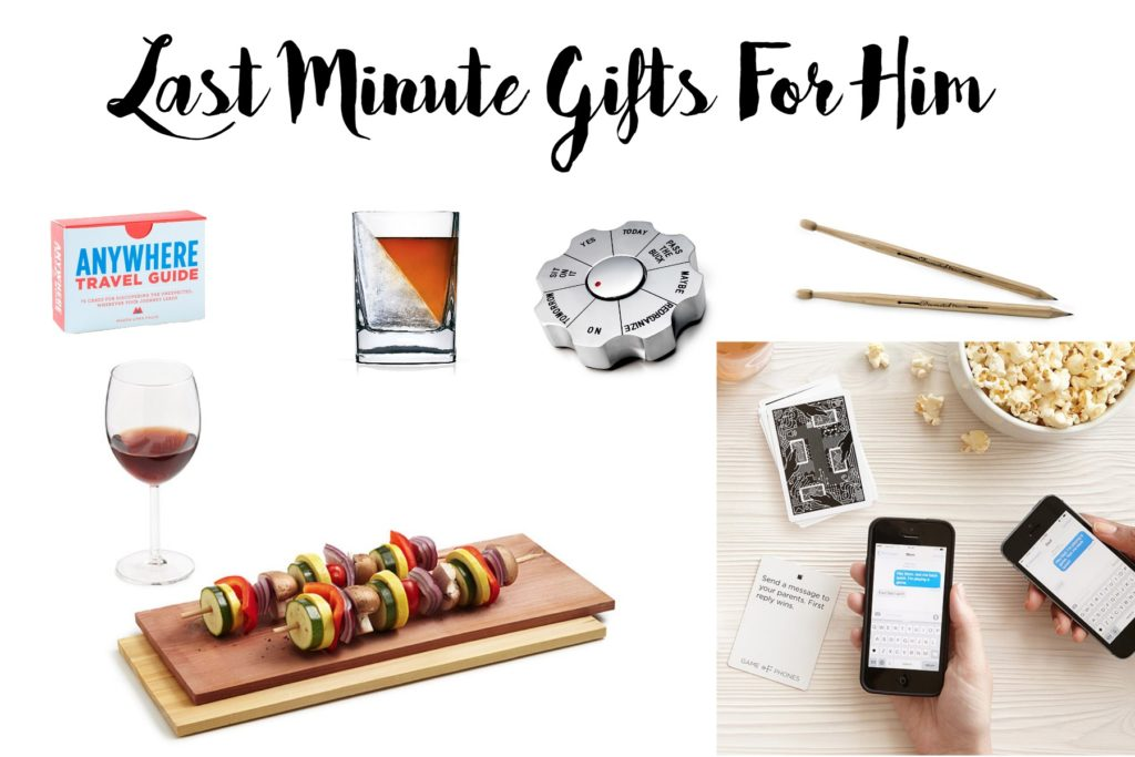 Last Minute Gifts For Him