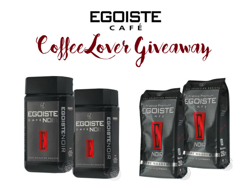 egoiste coffee lover giveaway