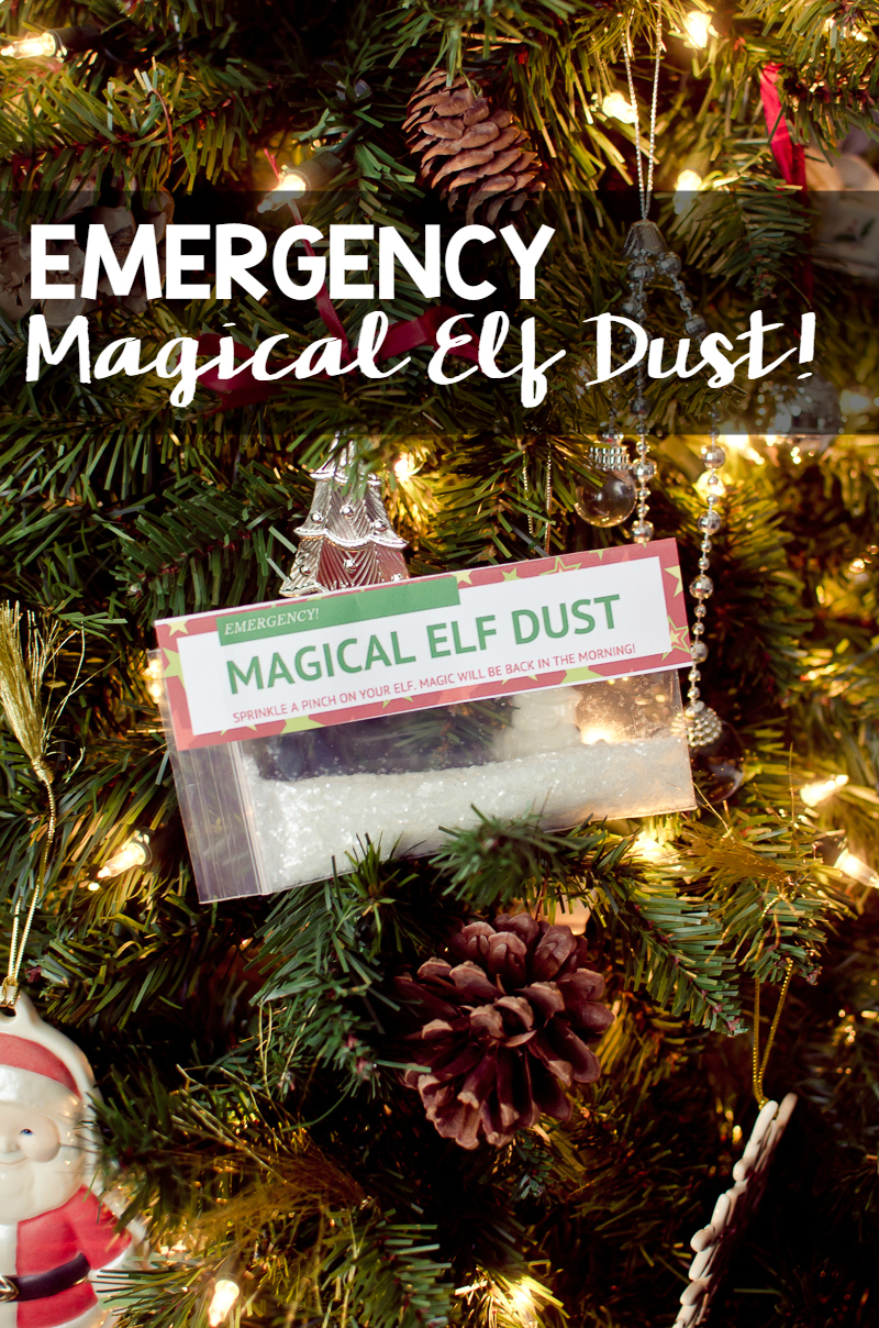 emergency magical elf dust