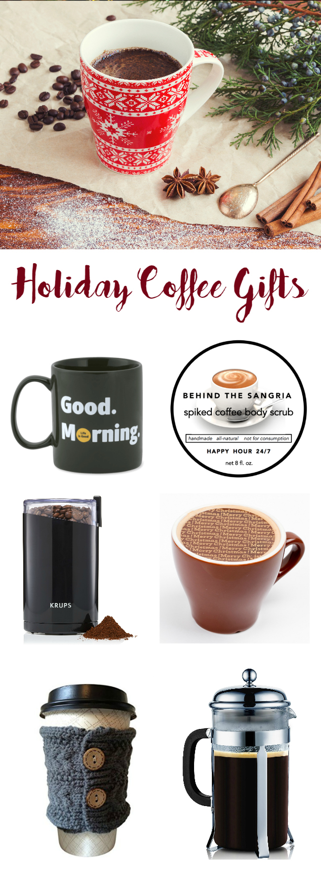 holiday coffee gifts