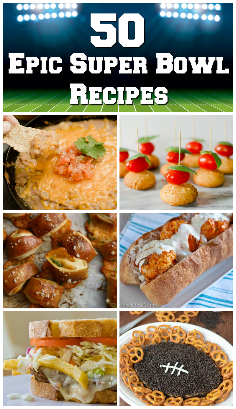 50 Epic Super Bowl Recipes