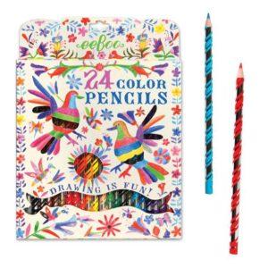 Eeboo Oaxaca 24 Color Pencils