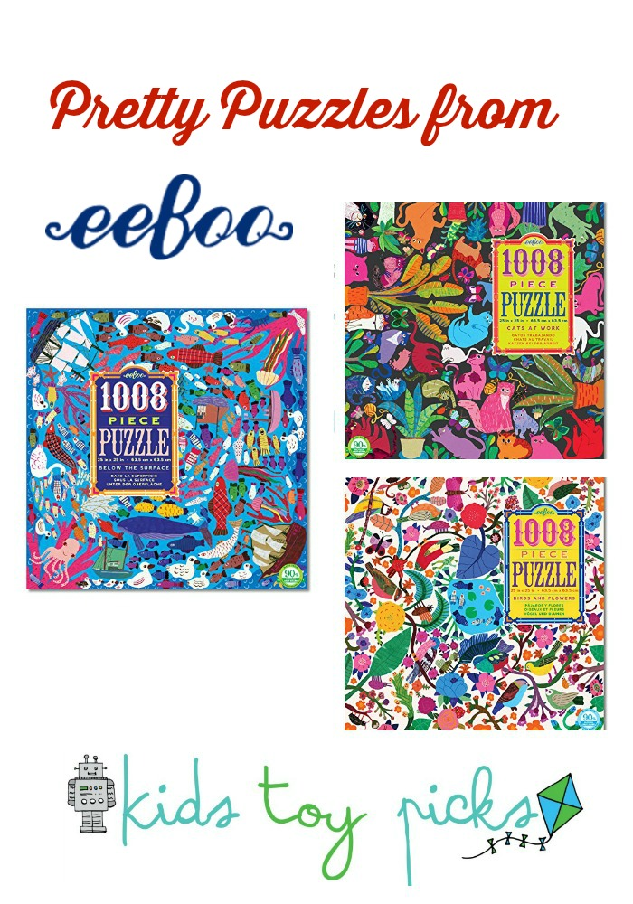 Kids Toy Picks eeBoo Pretty Puzzles