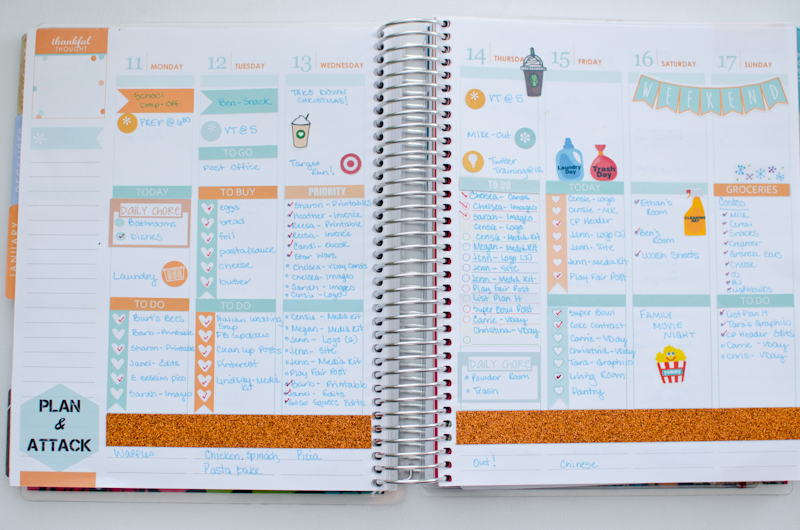 Plan with Me: How I Use My Erin Condren Life Planner - A