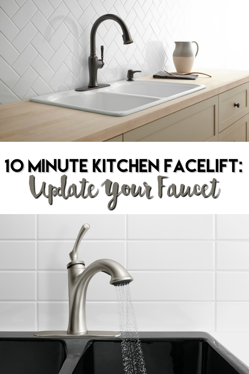 10 minute kitchen facelift