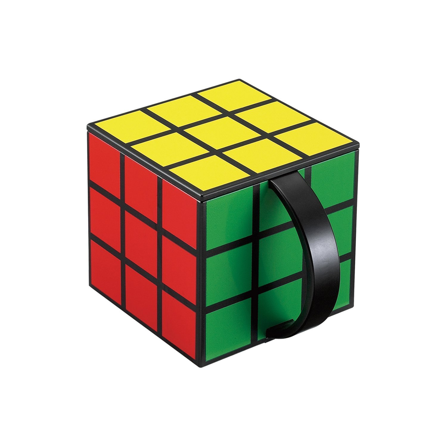 rubiks cube coffee cup