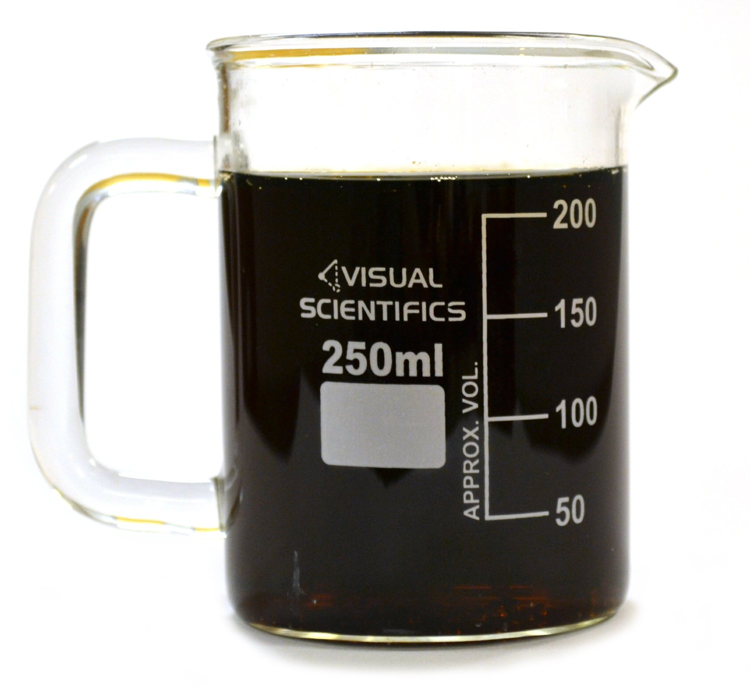 science lab beaker coffee cup