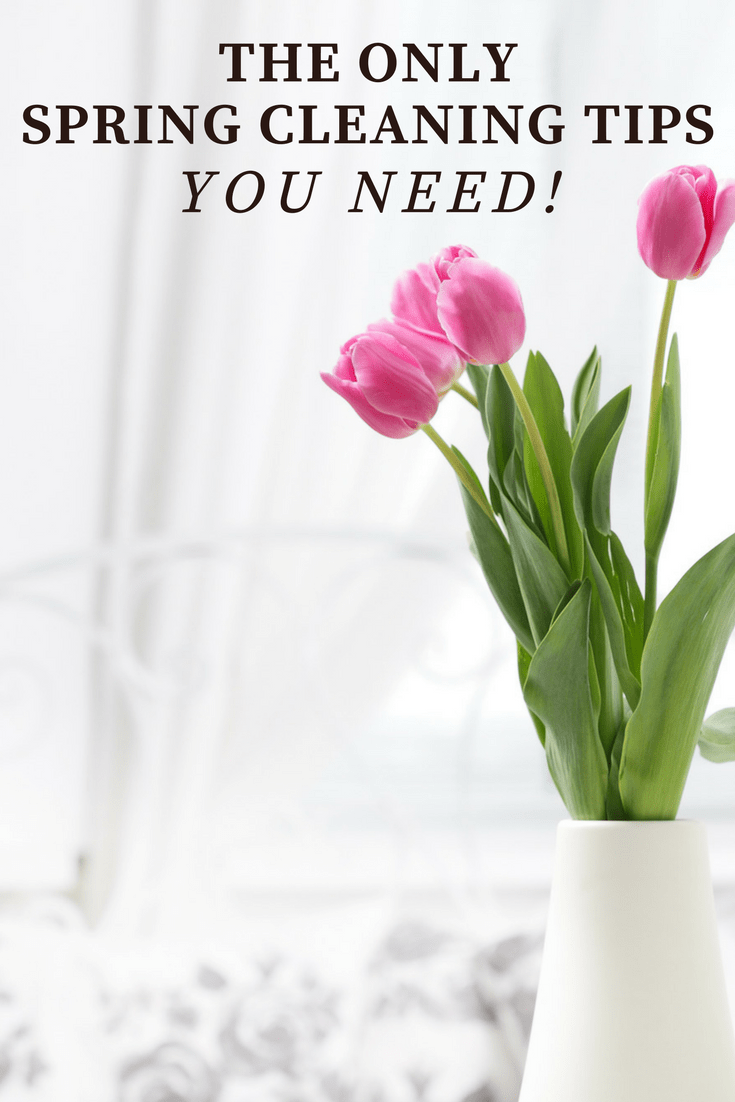the only spring cleaning tips you need