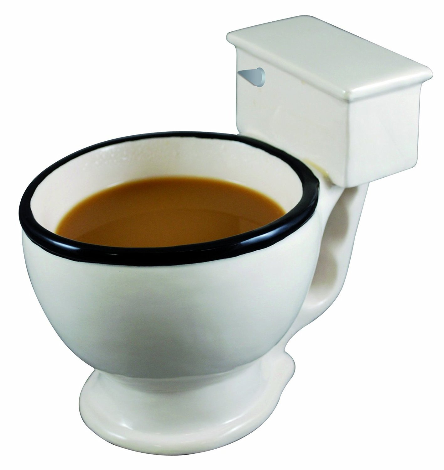 toilet bowl cup