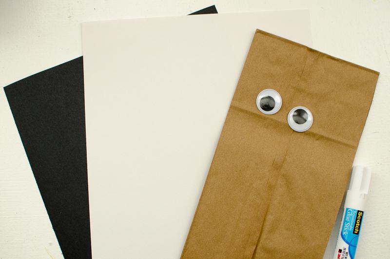 chewbacca paper bag puppet-1
