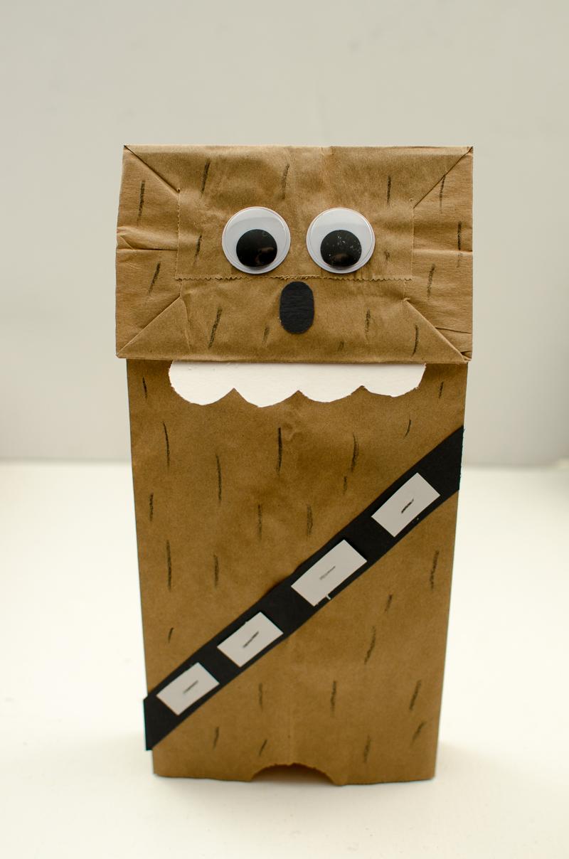 chewbacca paper bag puppet-11