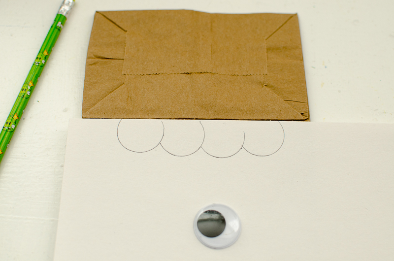 chewbacca paper bag puppet-3