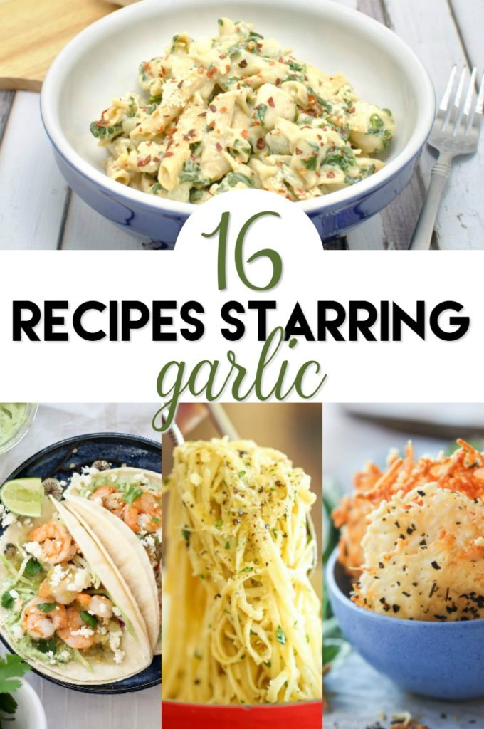 16 recipes starring garlic
