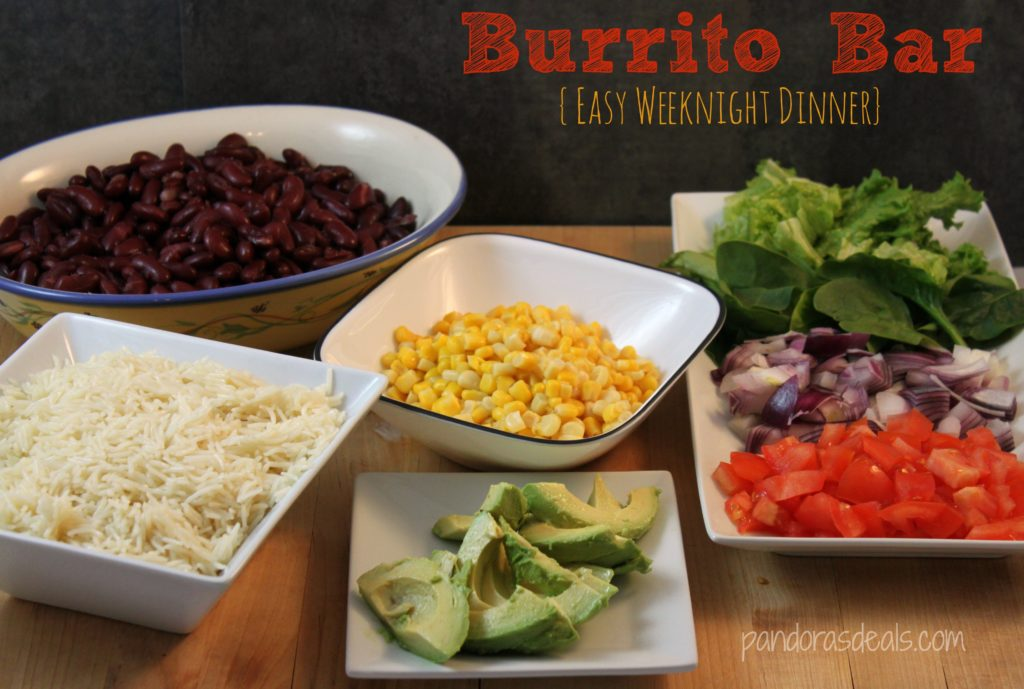 Easy-Weeknight-Dinner-Burrito-Bar