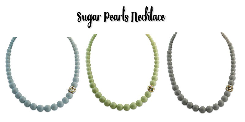 sugar pearls necklace