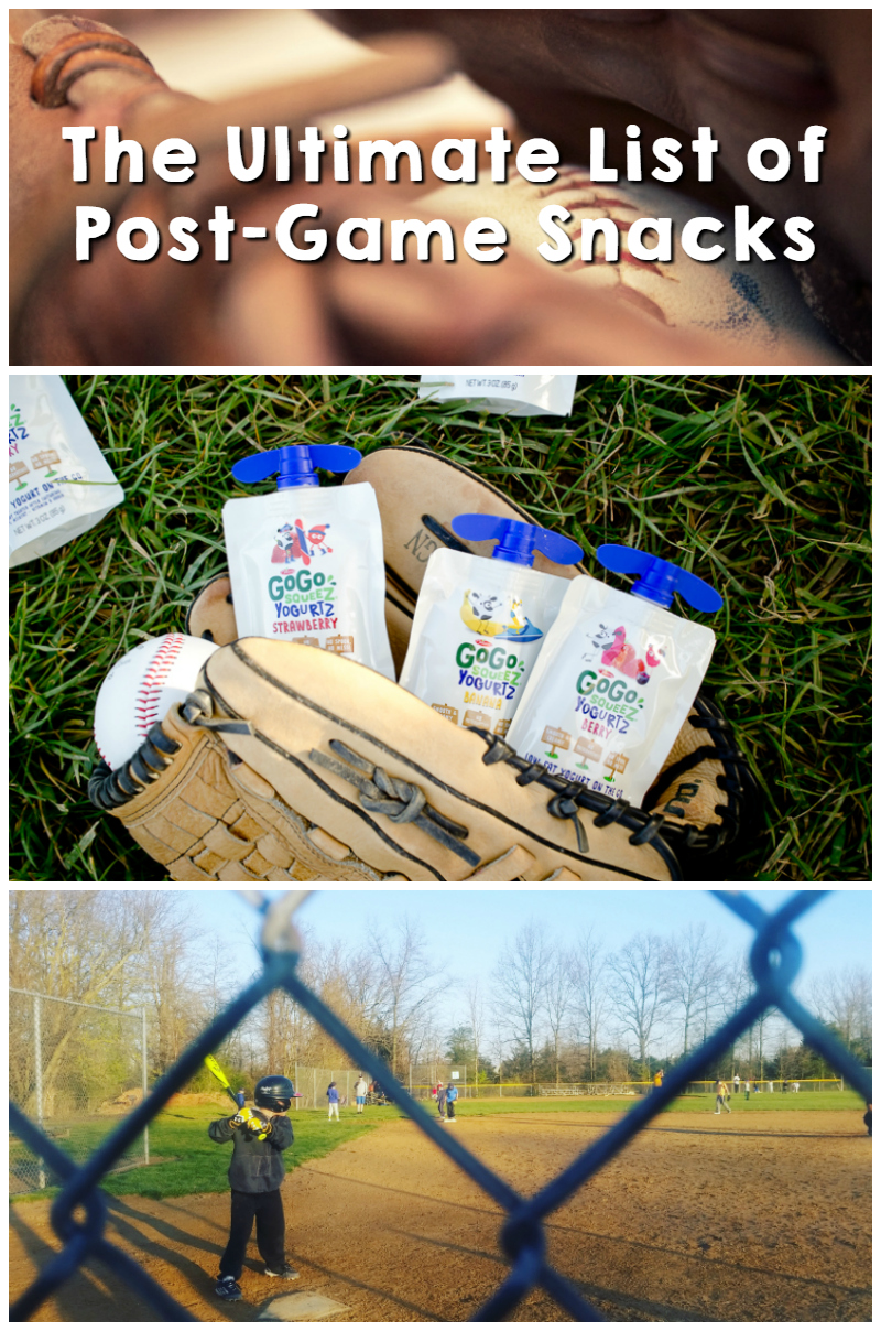 the ultimate list of post-game snacks