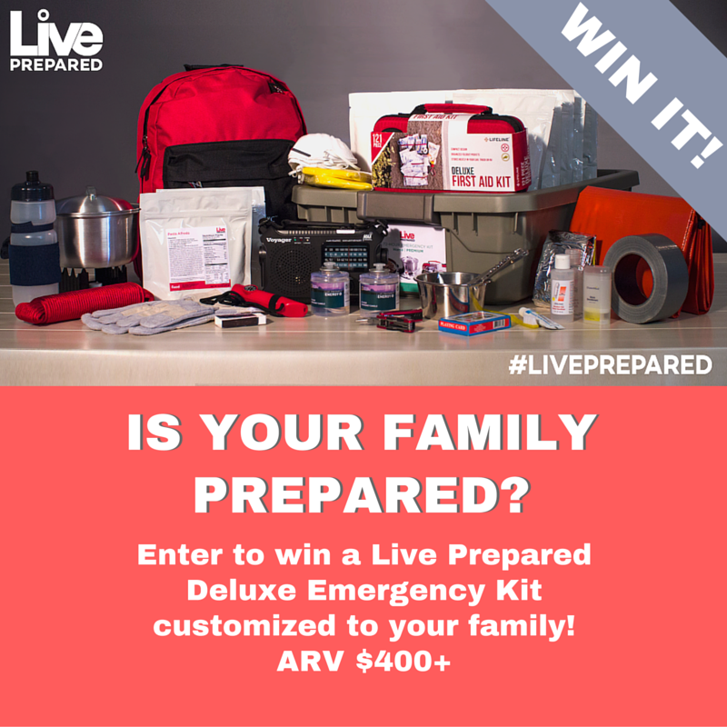 LIVE PREPARED GIVEAWAY