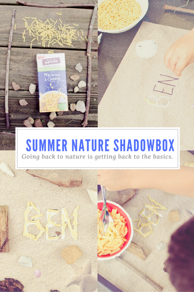 summer nature shadowbox (1)