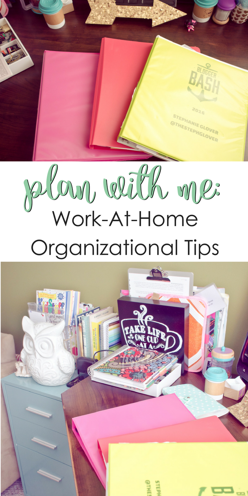 Work-At-Home Organizational Tips
