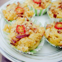 Gouda & Bacon Mac-and-Cheese Cups