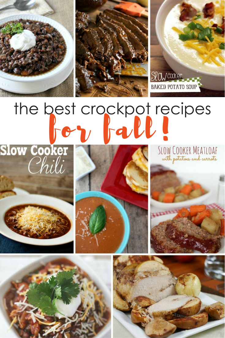 the best crockpot recipes for fall