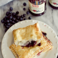 Lingonberry Blueberry Toaster Strudel