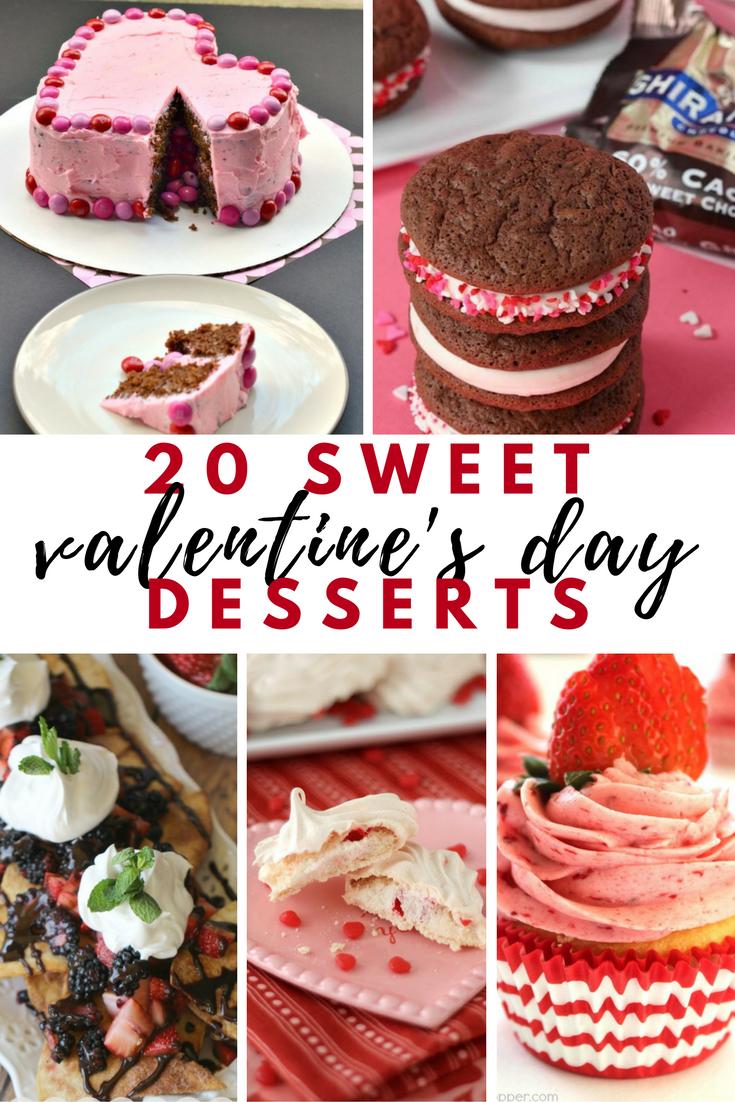 20 sweet valentine's day desserts