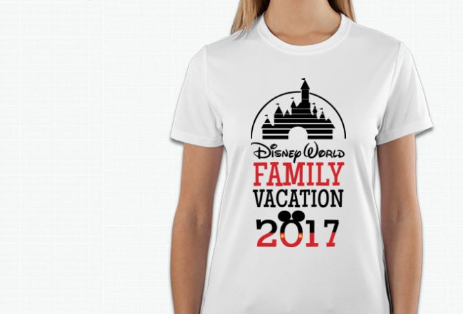 Countdown To Disney Custom Made T Shirts For Disney