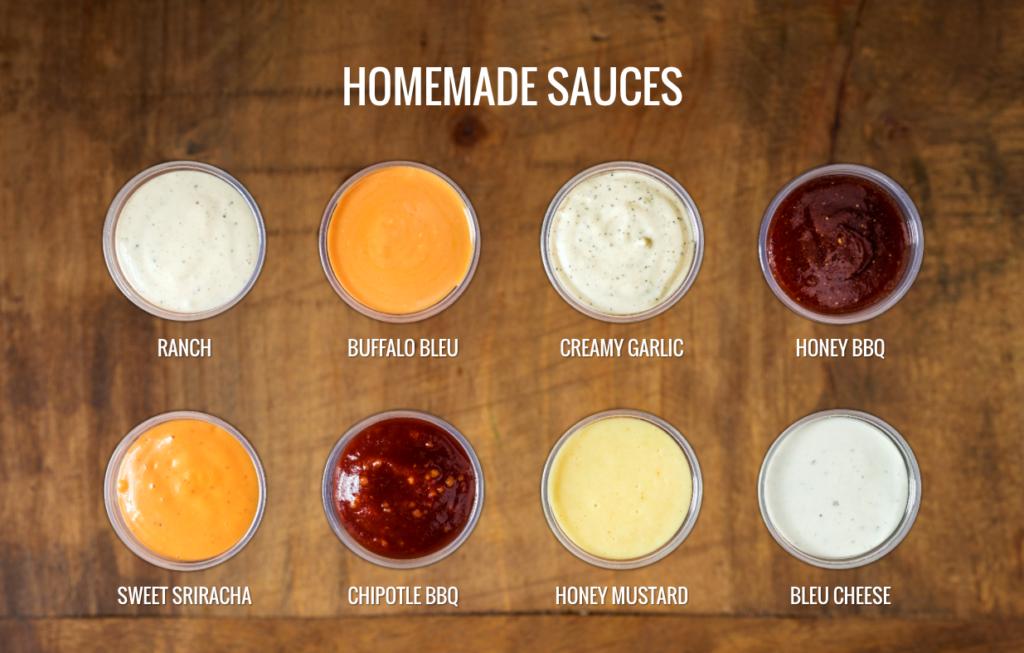 pdq sauces