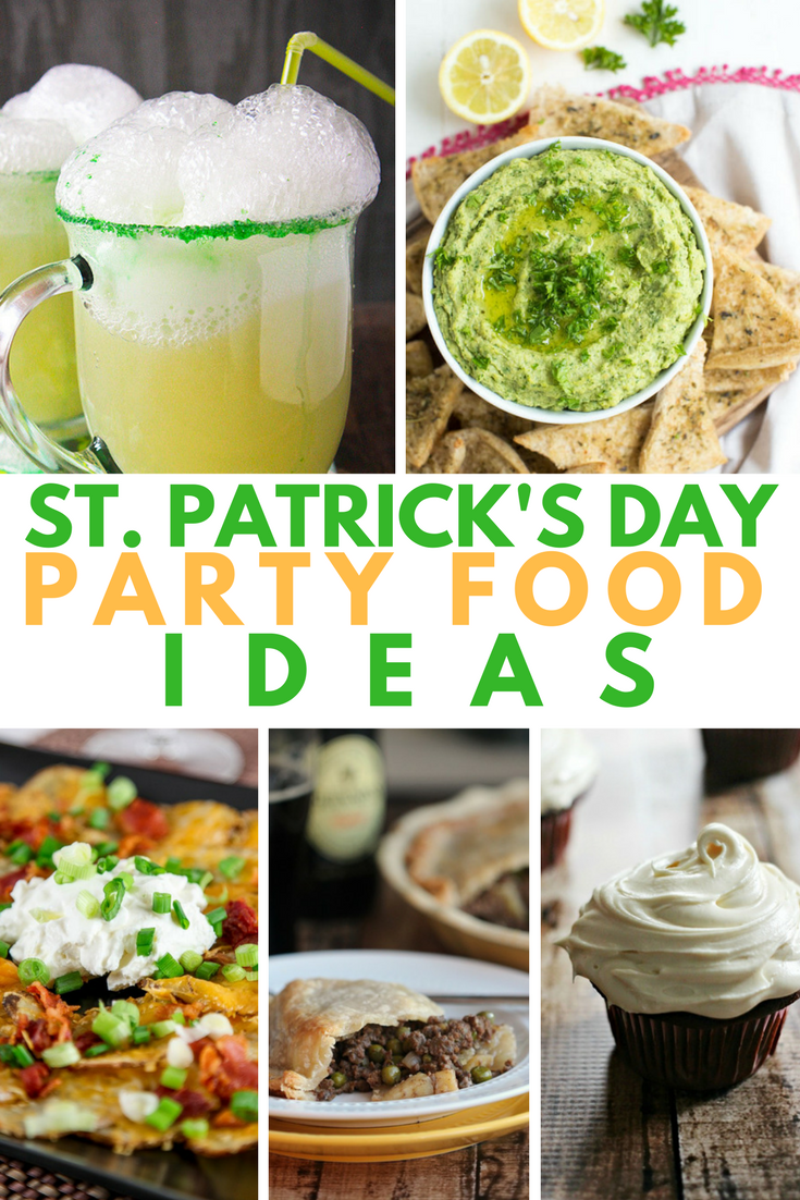 St Patrick S Day Party Food Ideas