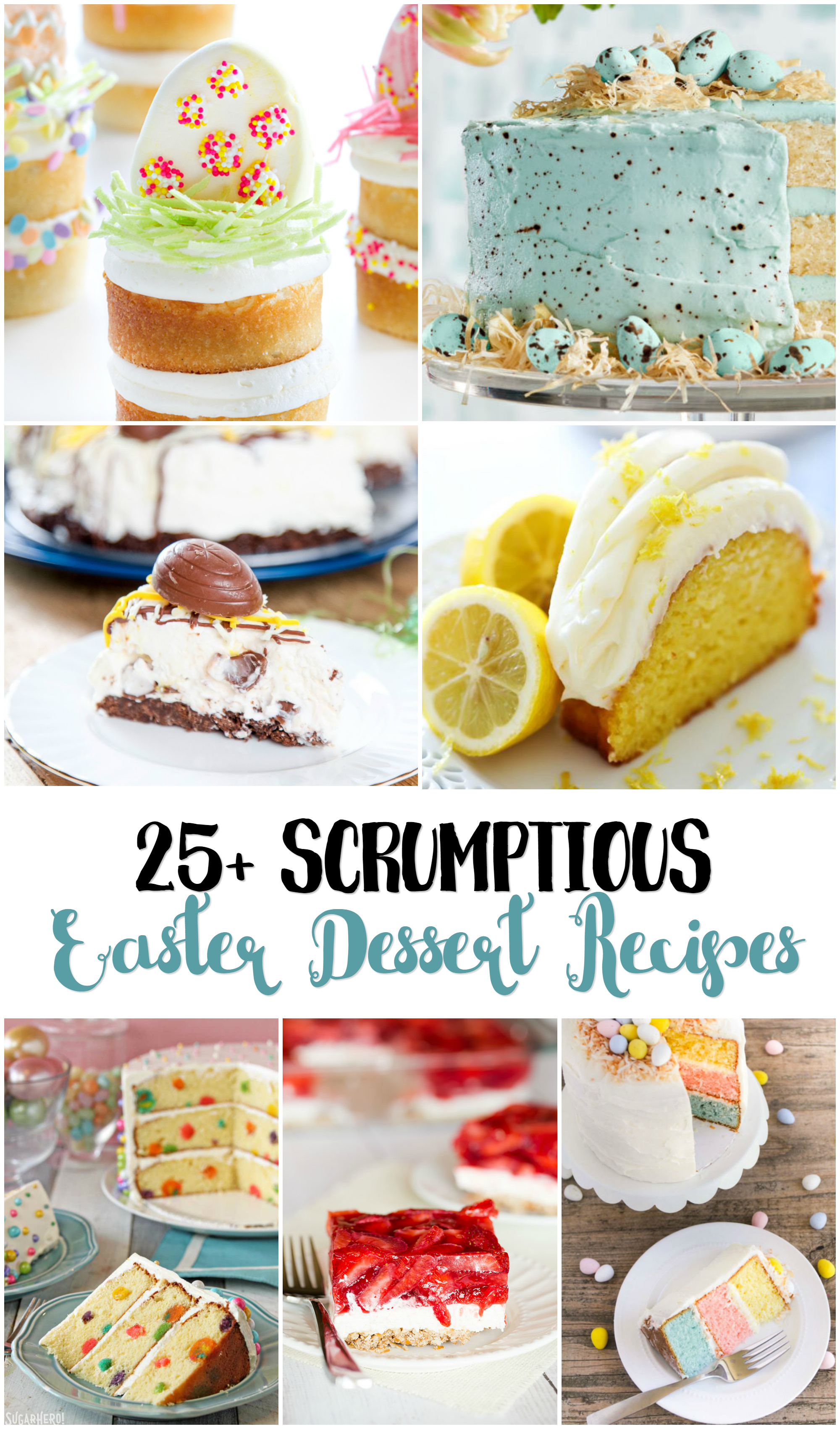 25+ Scrumptious Easter Dessert Recipes