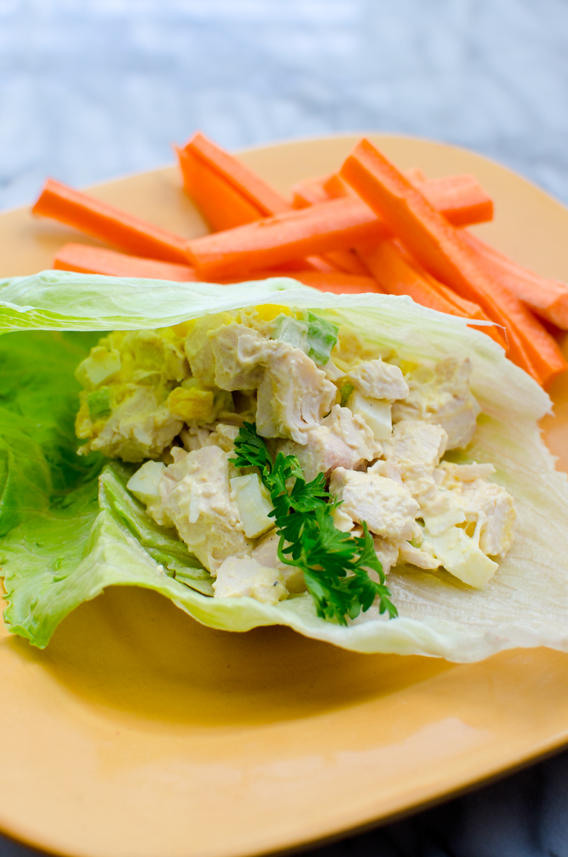 low carb chicken salad-5