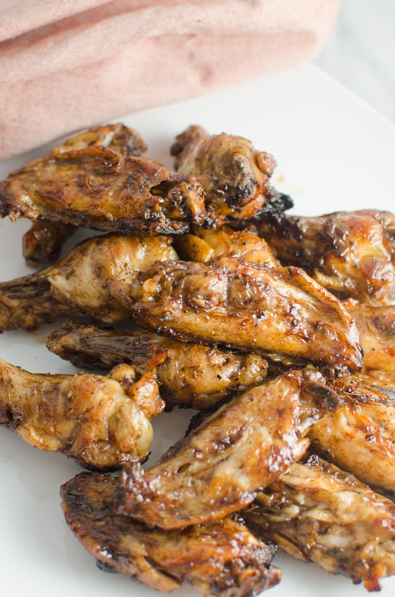 balsamic glaze wing-3