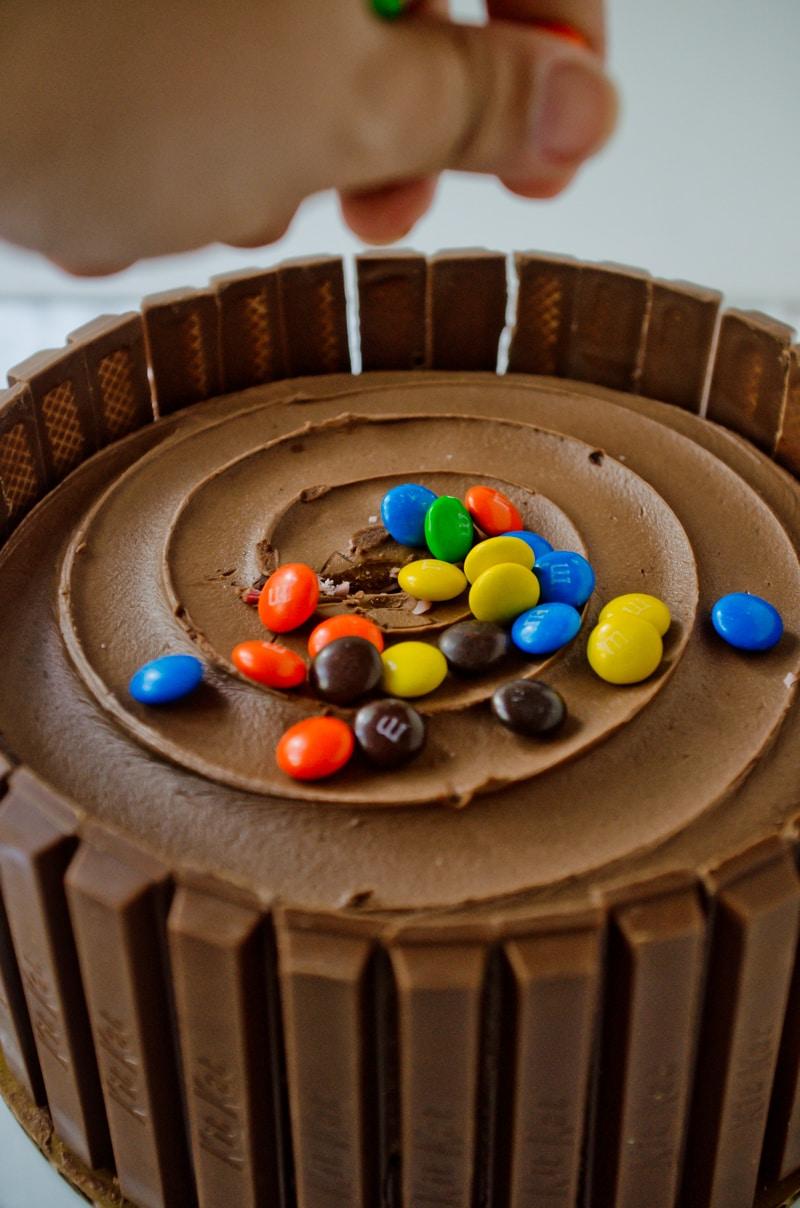 kit kat cake-5