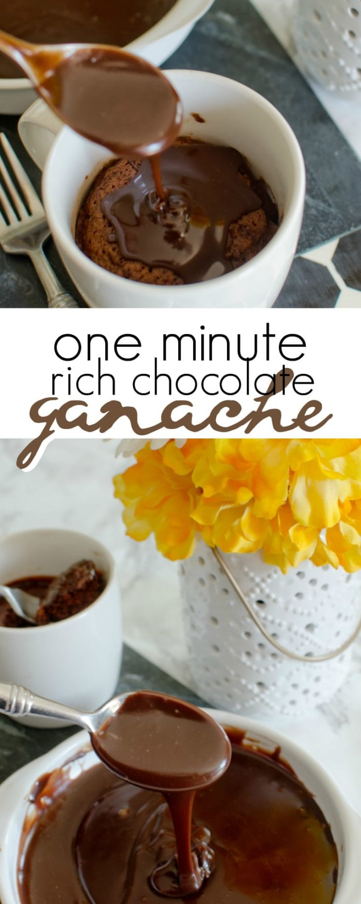 1 Minute Rich Chocolate Ganache