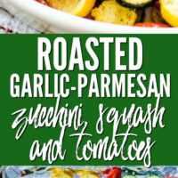 Garlic Parmesan Vegetables