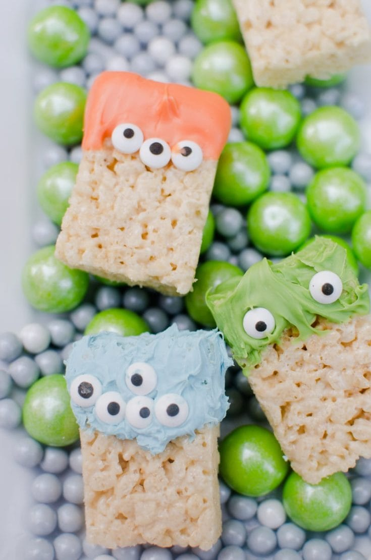Easy Halloween Treat: Monster Treats