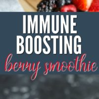Immune Boosting Berry Smoothie