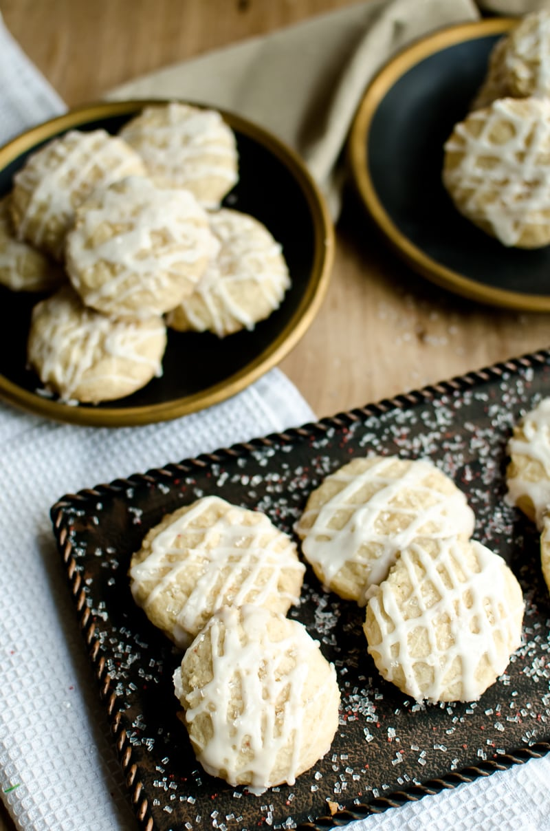 Vanilla Butter Sugar Cookies A Grande Life