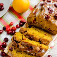 Cranberry-Orange Pumpkin Bread