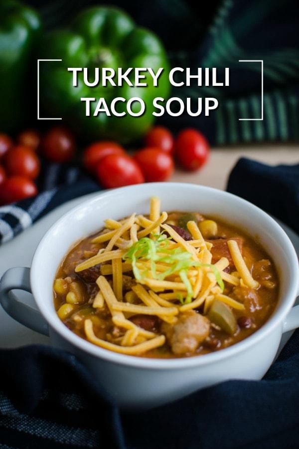 Turkey Chili Taco Soup