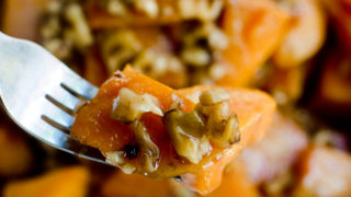Maple Walnut Sweet Potatoes