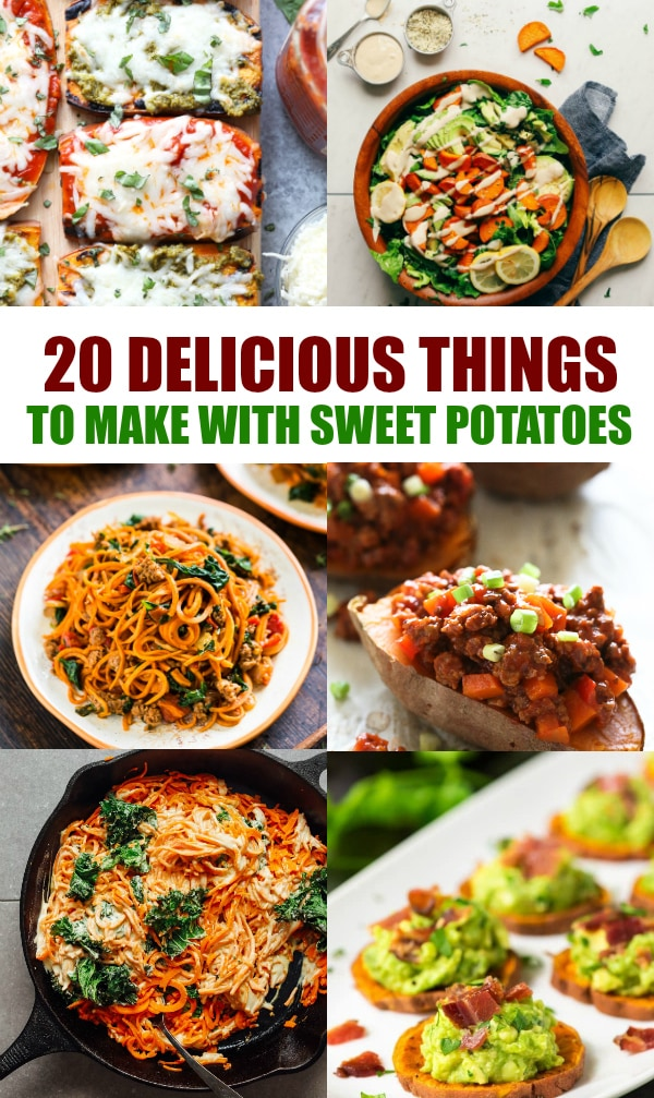 20 delicious things to make with sweet potatoes a grande for How to make delicious sweet potatoes